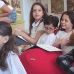 ילדים בספריית דורון