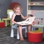 פינת קריאה לילדים בספריית דורון