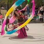 חגיגת פורים  צוענית בפארק רמת השרון