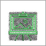 אייקון ירוק - תמונה על כן